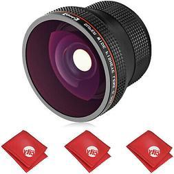Opteka Fisheye Lens for Nikon D7500 D5600 D5500 D5300 D3400