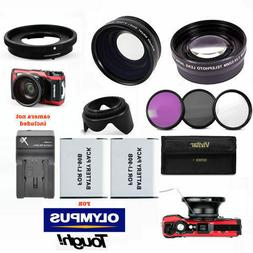 FISHEYE LENS + ZOOM LENS + 2x BATTERIES + FILTERS + CHARGER