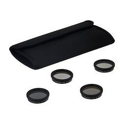 Fotodiox Four 4 Piece Filter Kit for DJI Phantom 3 Drone - N