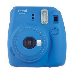 Fuji Instax Mini 9 Fujifilm Instant Film Camera Cobalt Blue