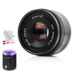 7artisans 50mm F1.8 Fuji X Mount Prime Portrait Lens for Fuj