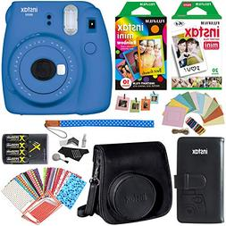 Fujifilm Instax Mini 9 Instant Camera , 1 Rainbow Film Pack,