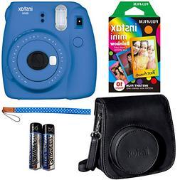 Fujifilm Instax Mini 9 Instant Camera - Cobalt Blue, Fujifil