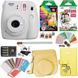 Fujifilm Instax Mini 9 Instant Camera , Rainbow Film Pack, T