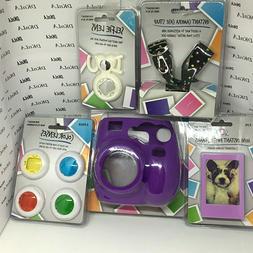 FujiFilm Instax Mini Camera Accessories Groovy & Silicone Ca