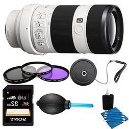 Sony 70-200mm F4 G OIS Interchangeable Lens for Sony Alpha C
