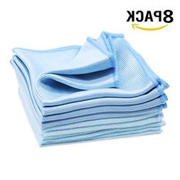 74c3eb339ad 8 Pack Glass Cleaning Cloths