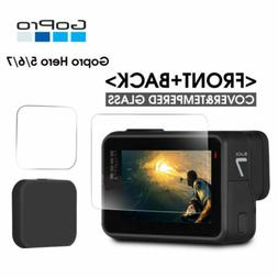 For Gopro Hero 7 6 5 Camera Accessories Lens Cap Screen Prot