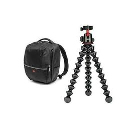 Joby GorillaPod 5K Kit, Black - with Manfrotto Advanced Gear