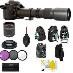 HD SPORTS ACTION ZOOM LENS 500-1000MM + KODAK CASE FOR NIKON