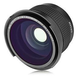 Opteka .35x Ultra Wide Angle Macro Lens for Sony NEX E Mount