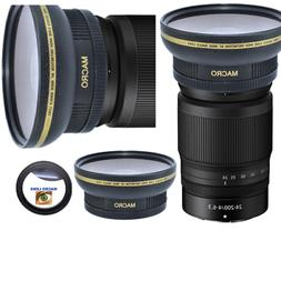 HD3 WIDE FISHEYE LENS + MACRO LENS FOR Canon EF 100-400mm f/