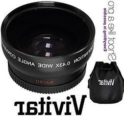 Vivitar HD4 Optics Pro HD Wide Angle With Macro Lens For Pan