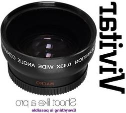 Hi - Def Wide Angle with Macro Lens for Sony Alpha A6000 ILC