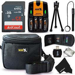 32GB Memory Card Accessories Kit/Bundle for Nikon Coolpix B5