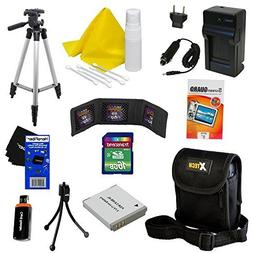 Ideal Accessory Kit for Canon Powershot SX170 IS - Includes: