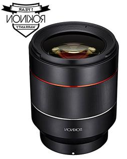 Rokinon IO50AF-E AF 50mm F1.4 Full Frame Auto Focus Lens for