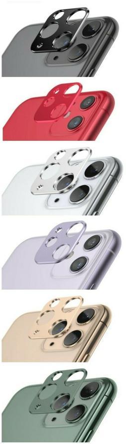 For iPhone 11 /11 Pro / MAX  Metal Camera Lens Protector Bum