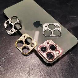 For iPhone 11 Pro Max Bling Diamond Camera Lens Protector Gl