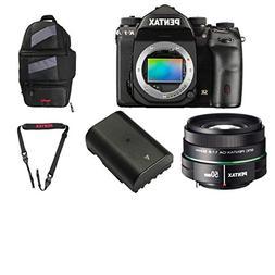 Pentax K-1 36.4MP Full-Frame CMOS Sensor DSLR Camera  + Pent