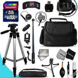 PRO 32GB Accessories KIT for CANON POWERSHOT G5X G5 X, G9X G