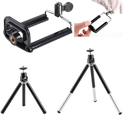 Apexel Camera Lens Telephoto + Wide Macro + Wireless with Mini Holder for Plus Samsung Galaxy S8/S7 Plus