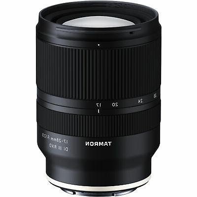 Tamron III Sony Full Frame Model