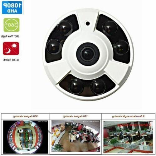 2.0MP 1080P HD CCTV Security wired Wide Angle 6PCS