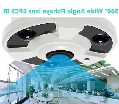 2.0MP CCTV Security Camera 360° Wide Angle 6PCS LEDs