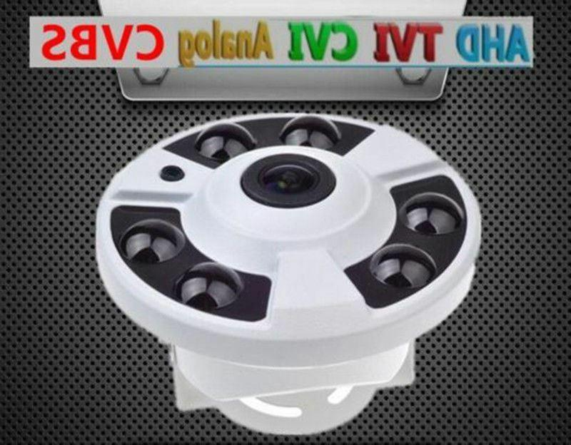 2.0MP 1080P HD CCTV Security Camera wired 360° Wide Angle F