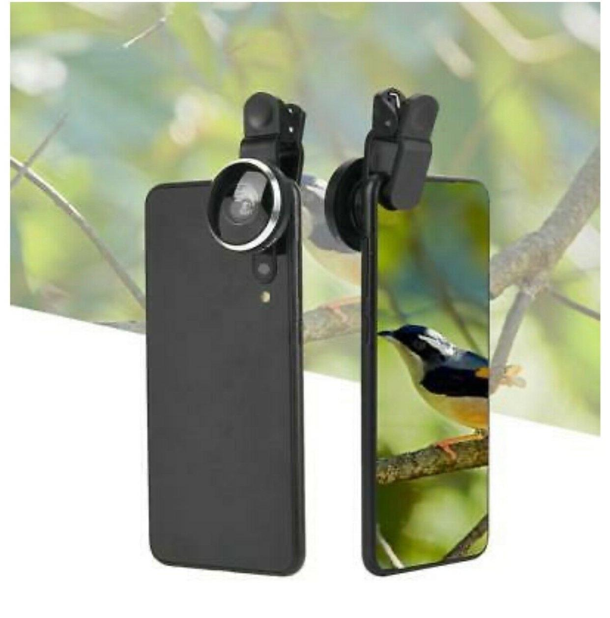 235°Super Camera Lens with Phone Clip 2 in