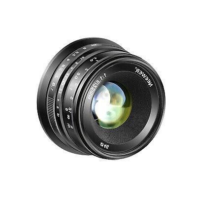 Neewer 25mm f/1.8 Manual Focus Lens for Sony E-Mount Digital