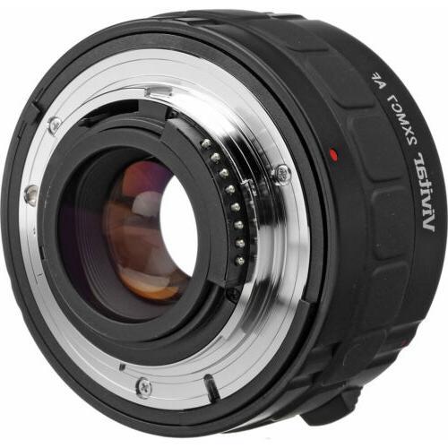 Vivitar 2x Elements Teleconverter for Nikon Digital SLR Camera Lenses