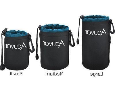 3 pack acuvar soft lens pouch