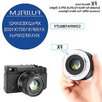 Neewer 35mm F1.2 Focus APS-C Aluminum Lens with