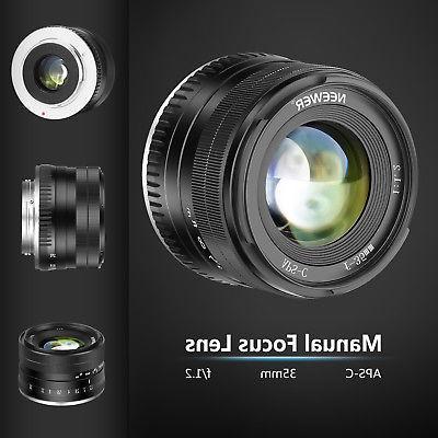 Neewer 35mm Focus Lens Compatible