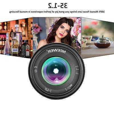 Neewer 35mm Focus Prime Lens Fuji