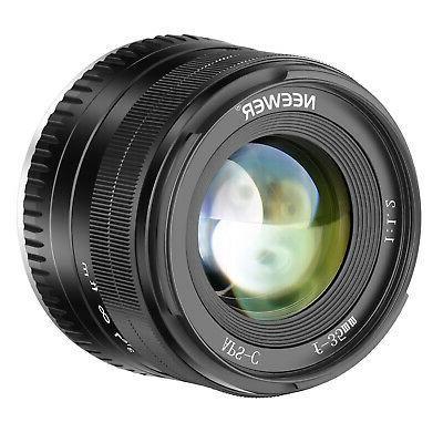 35mm f1 2 large aperture prime aps