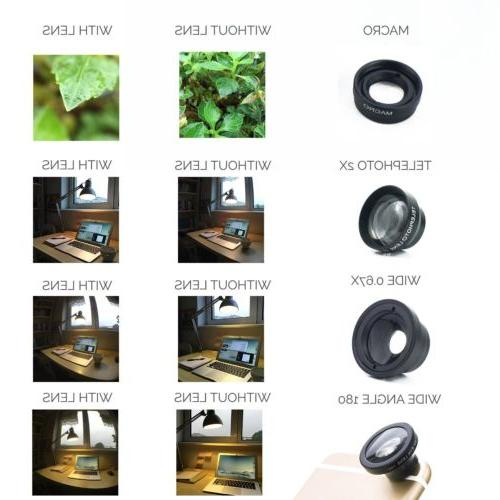 3in1 Angle Lens for iPhone/Samsung Cellphone
