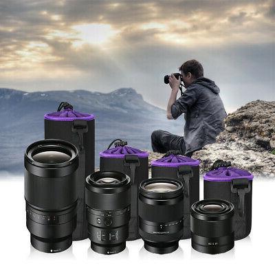 Camera Lens Protector Bag Case Waterproof
