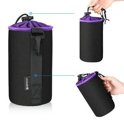 4 Neoprene Camera Lens Bag Case Waterproof