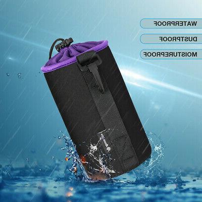 4 Pack Camera Lens Bag Case Set Waterproof