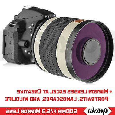 Opteka Mirror Lens EF