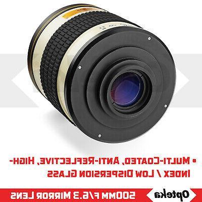 Opteka Mirror Lens EF DSLR