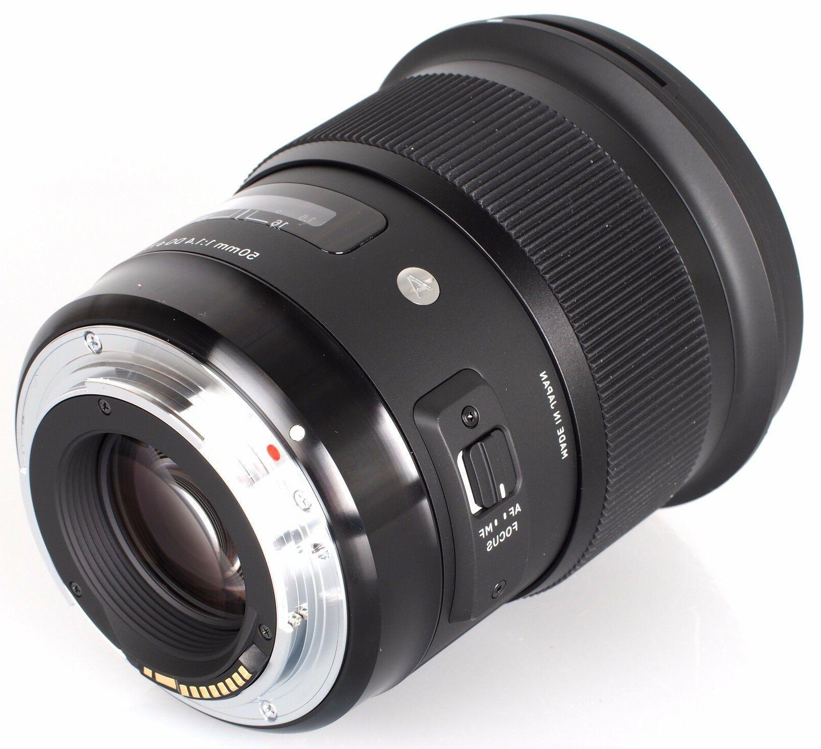 Sigma DG HSM Art Lens Canon EF
