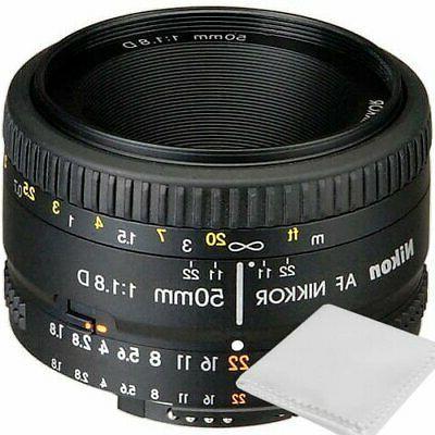 50mm f 1 8d af nikkor lens