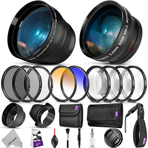 52mm Essential Accessory Kit for Nikon DSLR Bundle with Vivi
