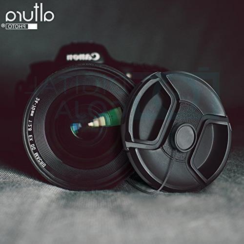 58MM Accessory for Canon EOS SL2 T6i T5i T5 80D 77D 70D Cameras