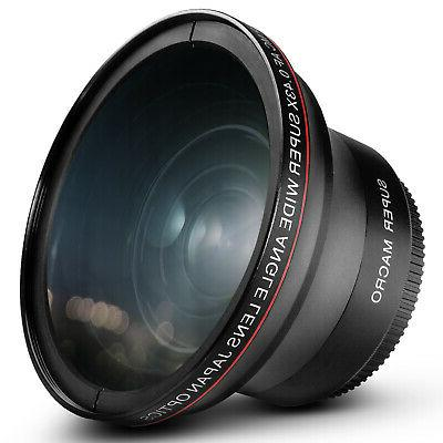 58mm 43x wide angle lens with macro