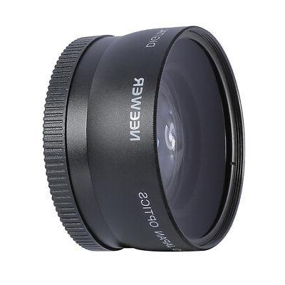 Neewer 58mm HD Wide Lens Macro Lens EOS 60D 70D